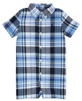 Polo Ralph Lauren Checked Short Bodysuit