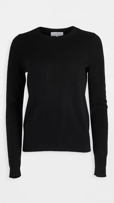 White + Warren Cashmere Long Sleeve Crew Neck Sweater