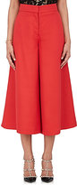Valentino Women's Silk Wide-Leg Crop Trousers