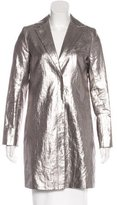 Smythe Metallic Linen Coat