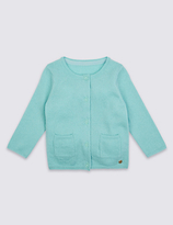 Marie Chantal Marie-chantal Girls Cashmere Blend Cardigan (3 Months - 5 Years)
