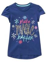 Gymboree Make Magic Happen Tee