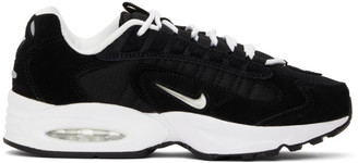Nike Black and White Air Max Triax LE Sneakers
