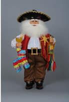 Karen Didion Christmas Fiesta Santa Figurine