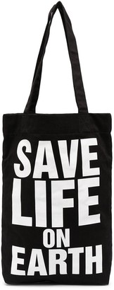 Katharine Hamnett Save Life On Earth tote bag