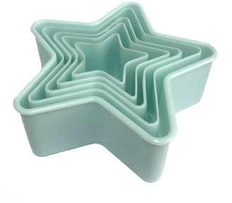 Soffritto Professional Bake Star Cookie Cutter Set of 5