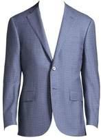 Corneliani Regular-Fit Windowpane Wool Jacket