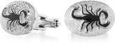 Forzieri Fashion Garden - Scorpion Oval Cufflinks
