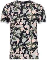Jack & Jones Jorwifi Tee Crew Neck Print Tshirt Silver/pink