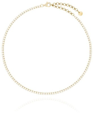 Shay 18kt Yellow Gold Diamond Tennis Necklace