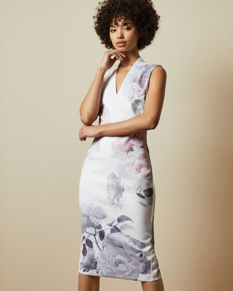 Ted Baker MARAH Bouquet bodycon dress