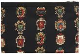Dolce & Gabbana Coat Of Arms Pouch
