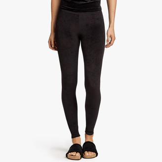 James Perse Velvet Mid-Rise Legging