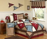 JoJo Designs All Star Sports Childrens 3 Piece Full / Queen Boys Bedding Set