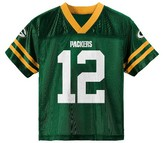 NFL Green Bay Packers Boys' Aaron Rodgers Jersey