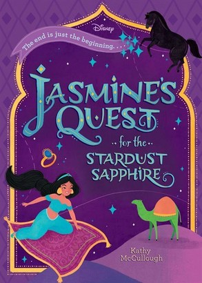 Kathy Mccullough Jasmine's Quest For The Stardust Sapphire (disney Aladdin)