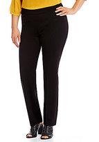 Peter Nygard Nygard SLIMS Plus Luxe Straight Leg Pants