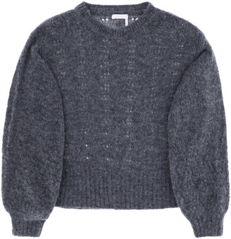 See by Chloe Patterned Knit Sweater