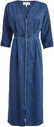 Mara Hoffman Annetta Denim Midi Dress