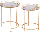 A&B Home A & B Home Set Of 2 Side Table