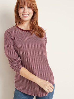 Old Navy EveryWear Striped Long-Sleeve Tee for Women