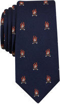 Bar III Men's Campfire Graphic-Print Tie, Only at Macy's