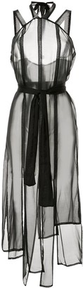 Symetria Link sheer dress