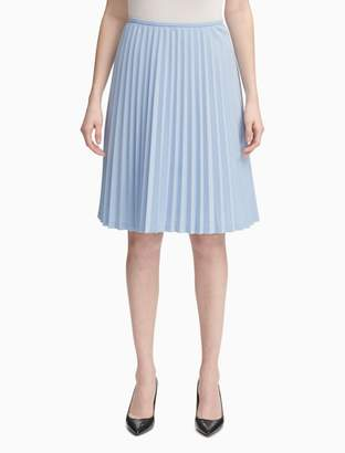 Calvin Klein Lux Pleated Skirt