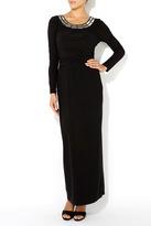Wallis Black Embellished Twist Maxi Dress