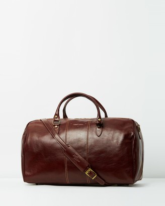 R.M. Williams R.M.Williams - Men's Brown Leather bags - Leather Duffle Bag - Size One Size at The Iconic