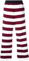 I'M Isola Marras striped trousers - women - Cotton/Polyamide/Spandex/Elastane/Viscose - 42
