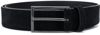 HUGO BOSS Rectangle Buckle Belt