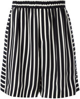 McQ by Alexander McQueen striped shorts - men - Polyester/Cupro - 46