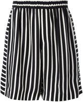 McQ by Alexander McQueen striped shorts