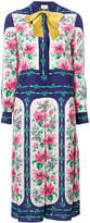 Gucci rose print dress