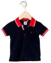 Petit Bateau Boys' Short Sleeve Polo Shirt