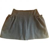 Miu Miu Wool mid-length skirt