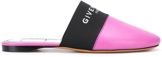 Givenchy logo strap slippers