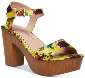 Betsey Johnson Penn Platform Dress Sandals Women's Shoes