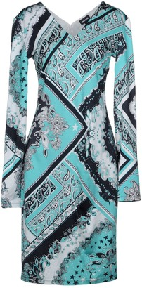 Just Cavalli Knee-length dresses