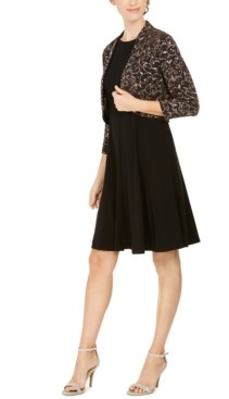 Jessica Howard Petite Embellished Bolero Jacket & Dress