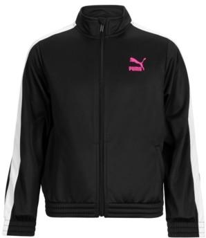 Puma Big Girls Colorblocked Tricot Jacket