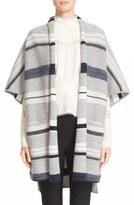 Derek Lam 10 Crosby Women's Stripe Wool Ruana