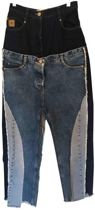 Natasha Zinko \N Blue Cotton - elasthane Jeans for Women