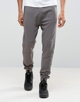 New Look New Look Joggers With Zip Detail In Light Grey