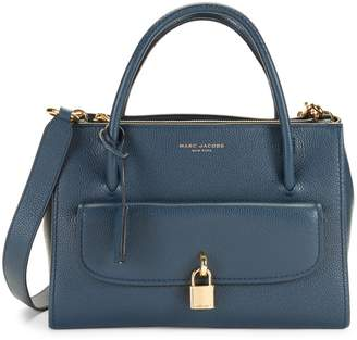 Marc Jacobs Lock Leather Tote