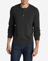 Eddie Bauer Men's Signature Cotton Henley Sweater