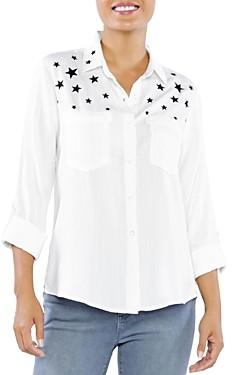 BILLY T I Wish Star Print Shirt