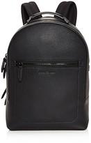 Salvatore Ferragamo Firenze Pebbled Leather Backpack