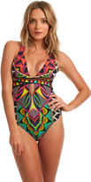 Trina Turk Africana Cross Back One Piece